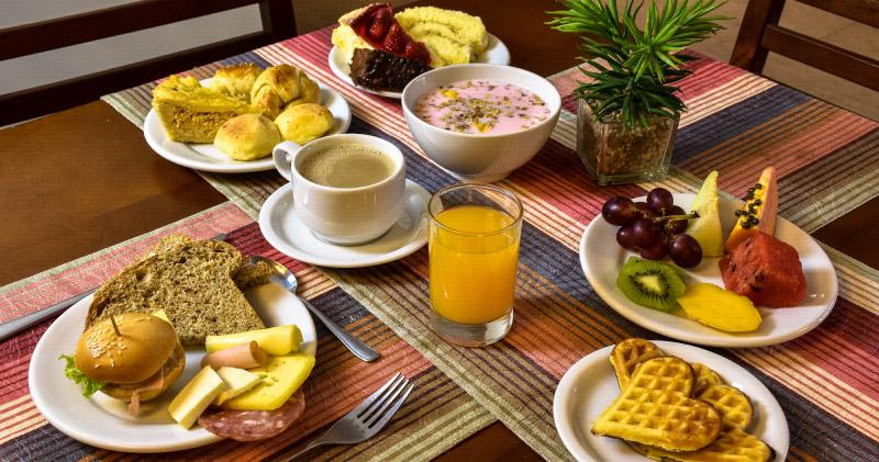 Café da Manhã em estilo colonial